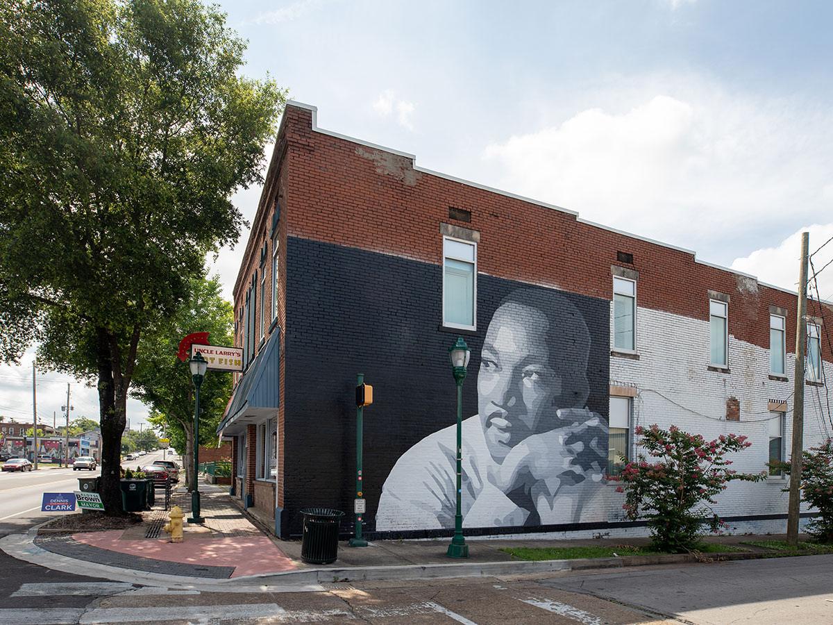 MLK mural